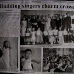 Borneo Bulletin Budding singers charm crowd
