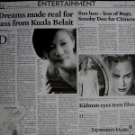 Borneo Bulletin Dreams made real