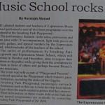 Borneo Bulletin Expression Music Schools Rocks