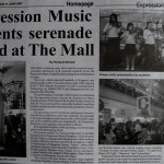 Borneo Bulletin Expression Music Students serenade crowd