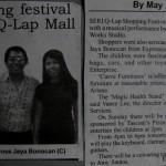 Borneo Bulletin Expression Music Students serenade crowd 2