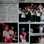 Borneo Bulletin Expression students wow audience
