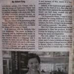 Borneo Bulletin Local songbird set to serenade europan theatres