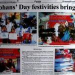Borneo Bulletin Orphan's day festivities