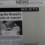Borneo Bulletin creative Leap for Brunei's musical talents at concert