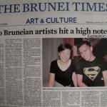 The Brunei Times 2 Bruneian Artists hits a high note