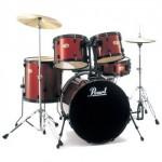 Pearl Drums (Red)
