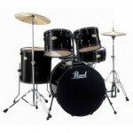 Pearl Drums (Black)