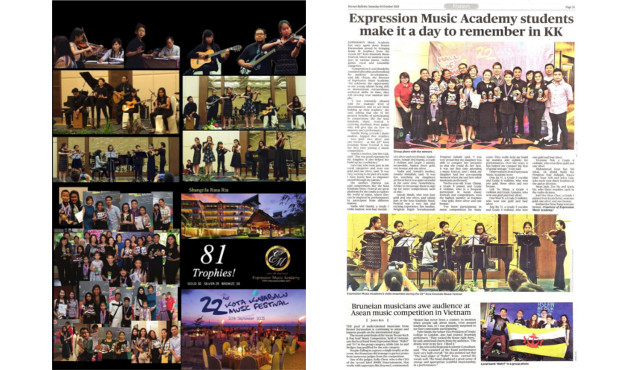 Expression Music KK 2015