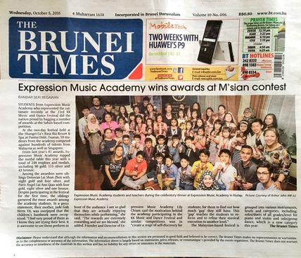 Expression Music Academy, Brunei Darussalam
